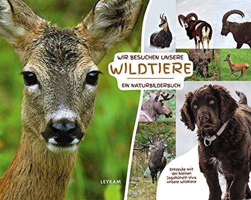 Wir besuchen unsere Wildtiere - Ein Naturbilderbuch: Entdecke mit der kleinen Jagdhündin Viva unsere Wildtiere