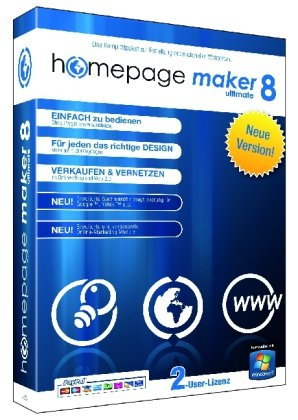 Homepage Maker 8 Ultimate
