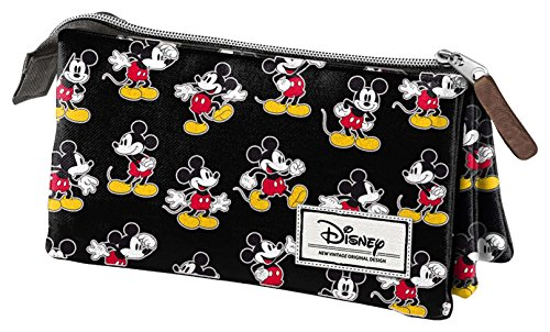 Karactermania Disney-Klassiker Mickey bewegen Tasche, 24 cm, schwarz