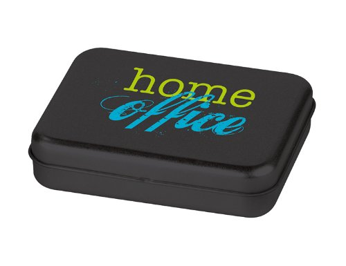 Moses 82136 home office Mini-Bürobox Metallbox mit zahlreichen Miniatur-Utensilien
