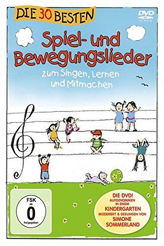 Die 30 besten Spiel- und Bewegungslieder – Die DVD – zum Singen, Lernen und Mitmachen