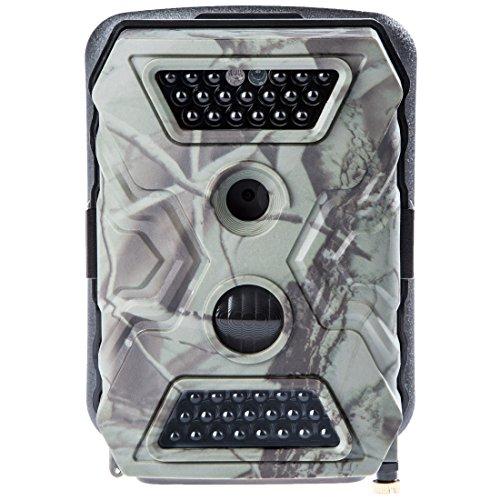 Ultrasport Überwachungskamera UmovE Secure Guard PRO (Ready), Wildkamera getarnt, Outdoor-Cam mit Bewegungsmelder, PRO READY inkl. Batterien und 16GB SD Karte – Spy Cam mit Full HD Auflösung, Dunkle LED