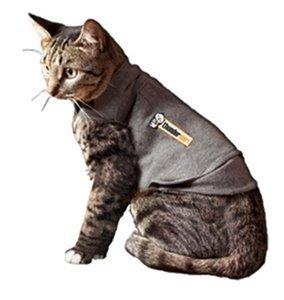 Thundershirt T02-GHS Mantel für die Katze, S, grau