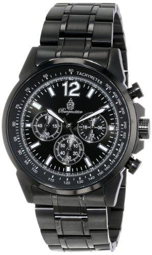 Burgmeister Armbanduhr für Herren mit Analog-Anzeige, Quarz-Uhr mit Edelstahl Armband - Wasserdichte Herrenarmbanduhr mit zeitlosem, schickem Design - klassische Uhr für Männer - BM608-622 Washington